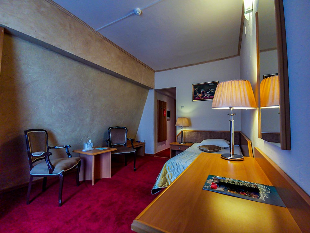 Camera single Hotel Belvedere Predeal